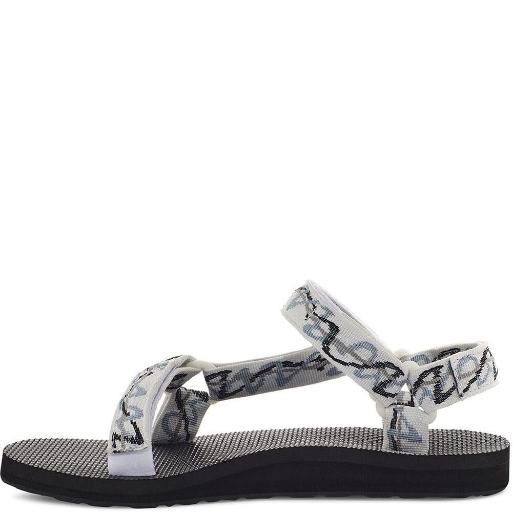 1003987-ZWHT Teva Women's Original Universal Sandals - Ziggy White