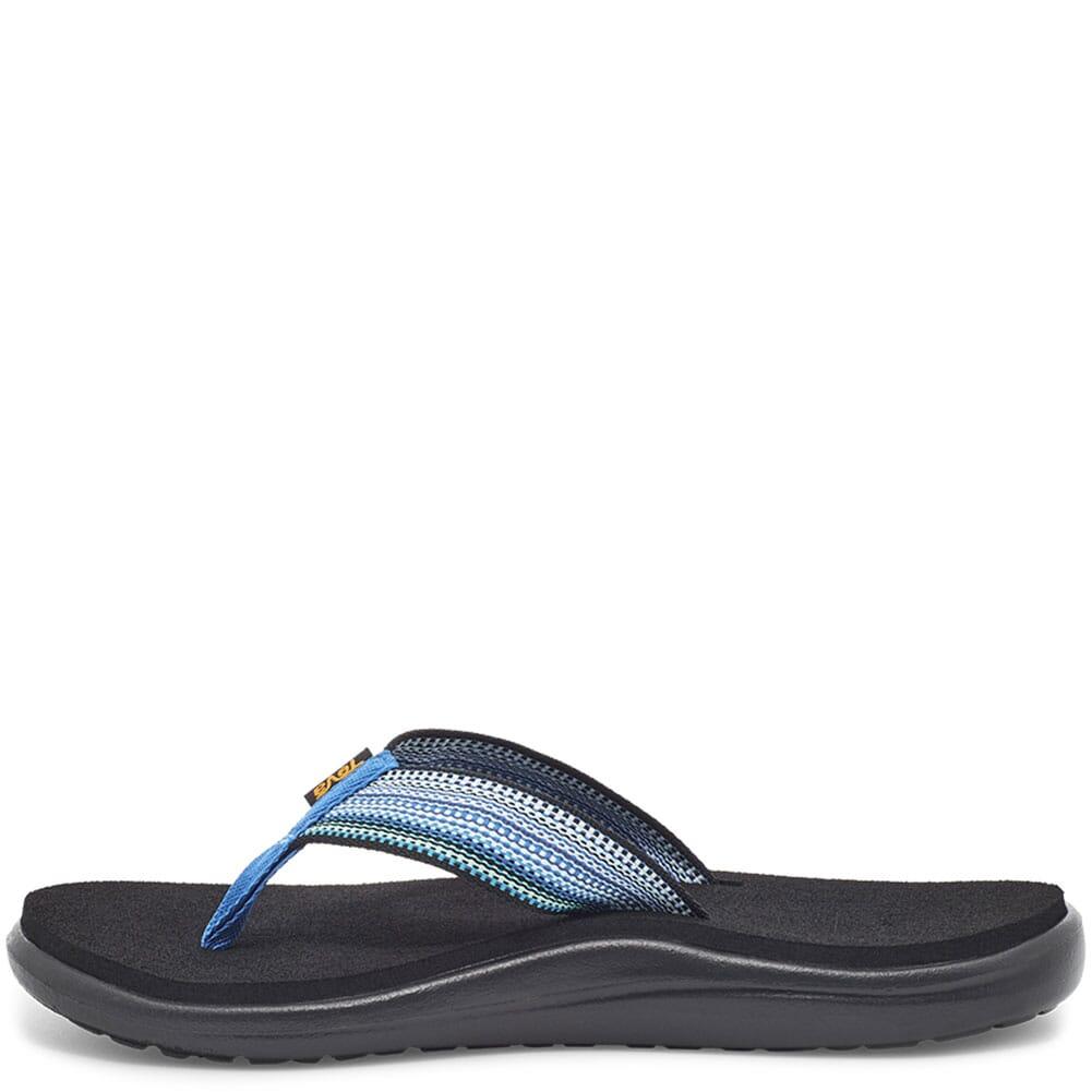 1019040-ABMLT Teva Women's Voya Flip Flop - Antiguous Blue