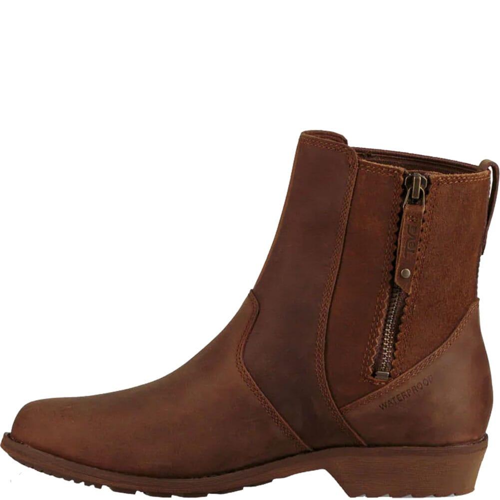 1103224-DOL Teva Women's Ellery Ankle WP Casual Boots - Dark Olive