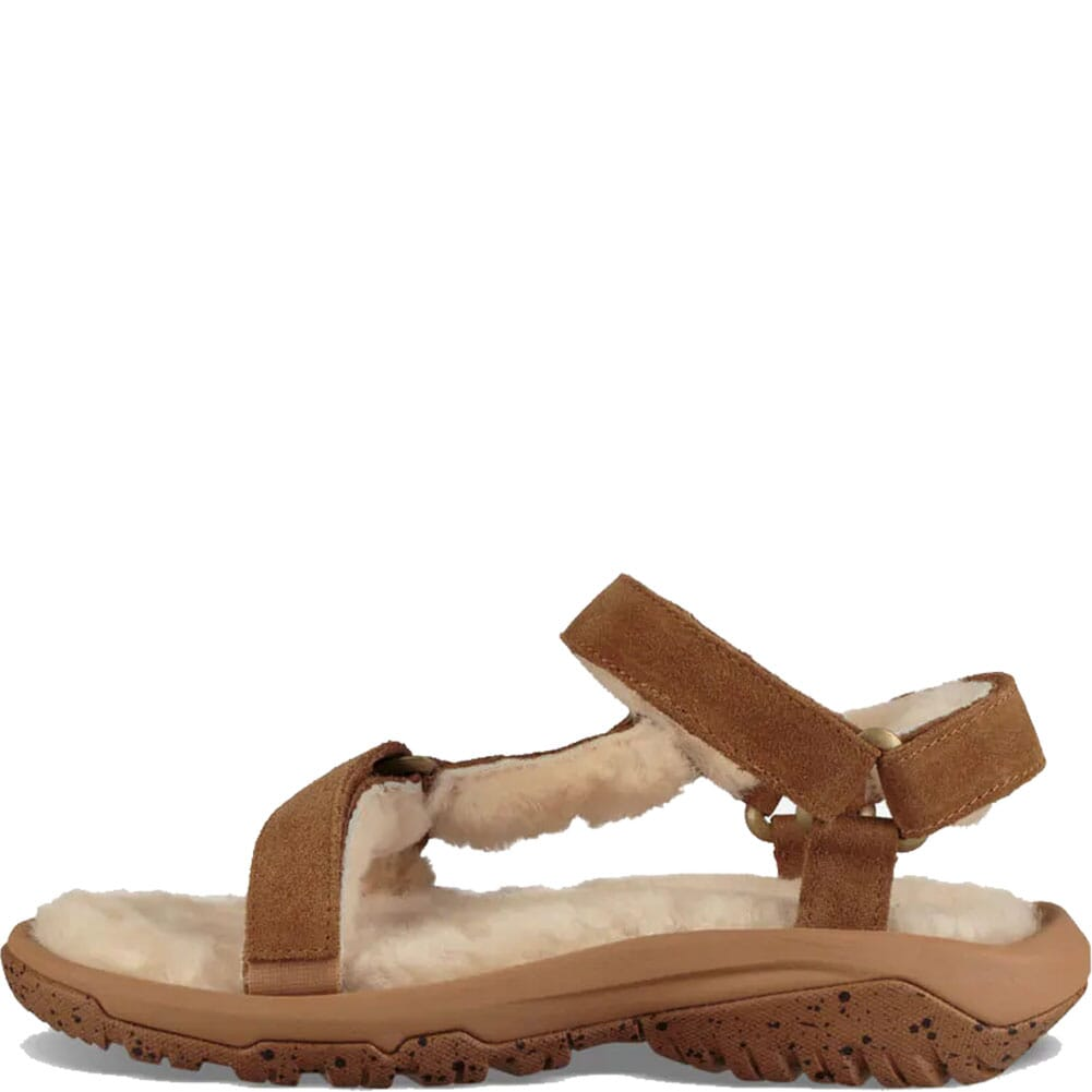 1103273-PEC Teva Women's Hurricane Shearling Sandals - Pecan