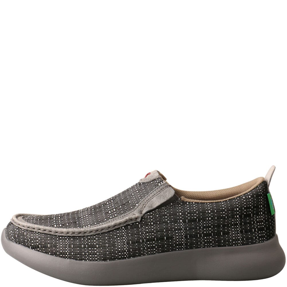 MRV0004 Twisted X Men's Slip-On EVA12R Casual Shoes - Black/Grey