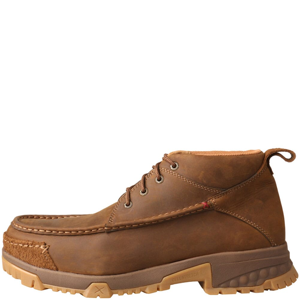 MXCC002 Twisted X Men's CellStretch CT Safety Boots - Saddle