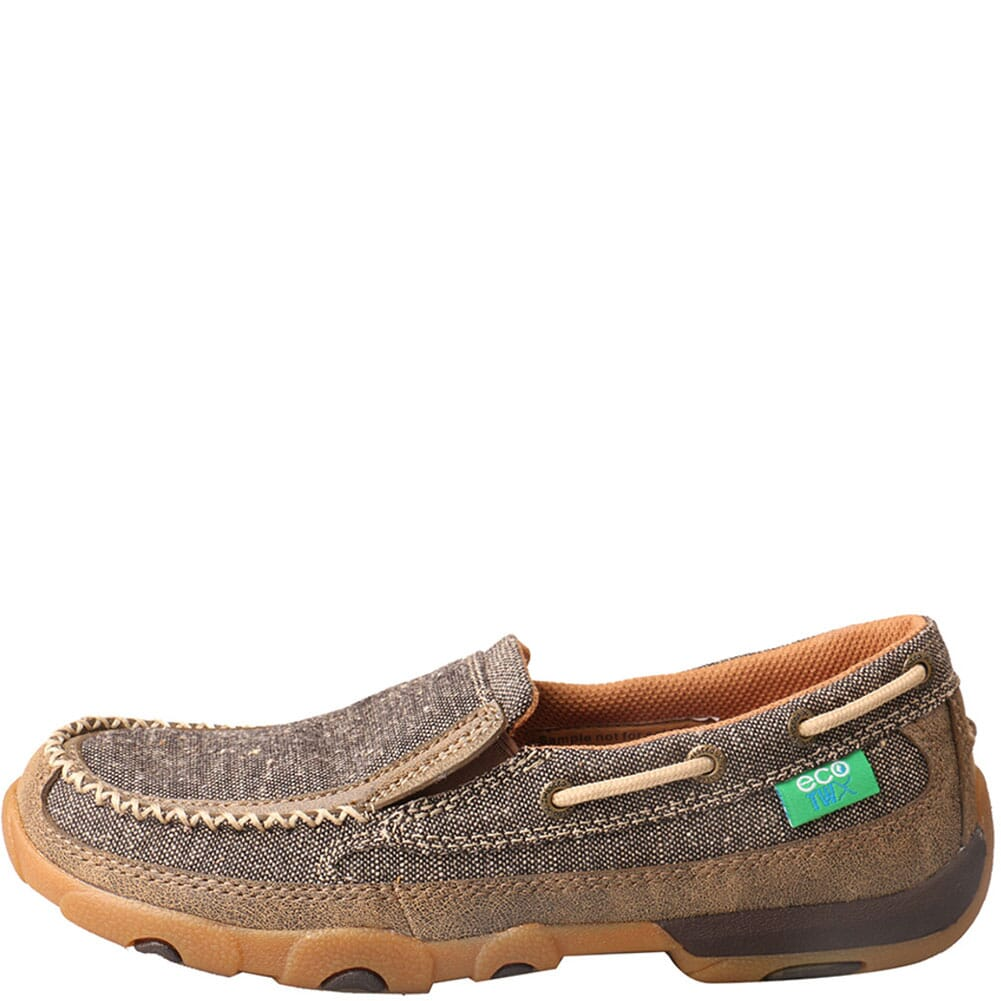 WDMS009 Twisted X Women's Driving Moc Slip Ons - Dust