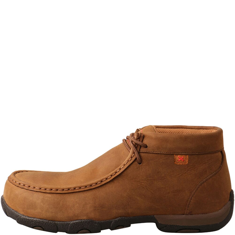 Twisted X Women's Driving Moc Safety Shoes - Saddle