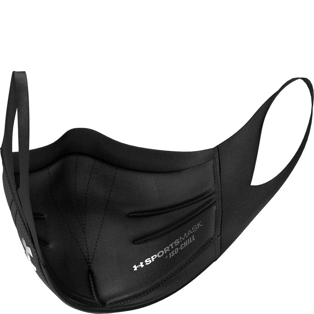 1368010-002 Under Armour Unisex Sportsmask - Black/Charcoal/Silver Chrome