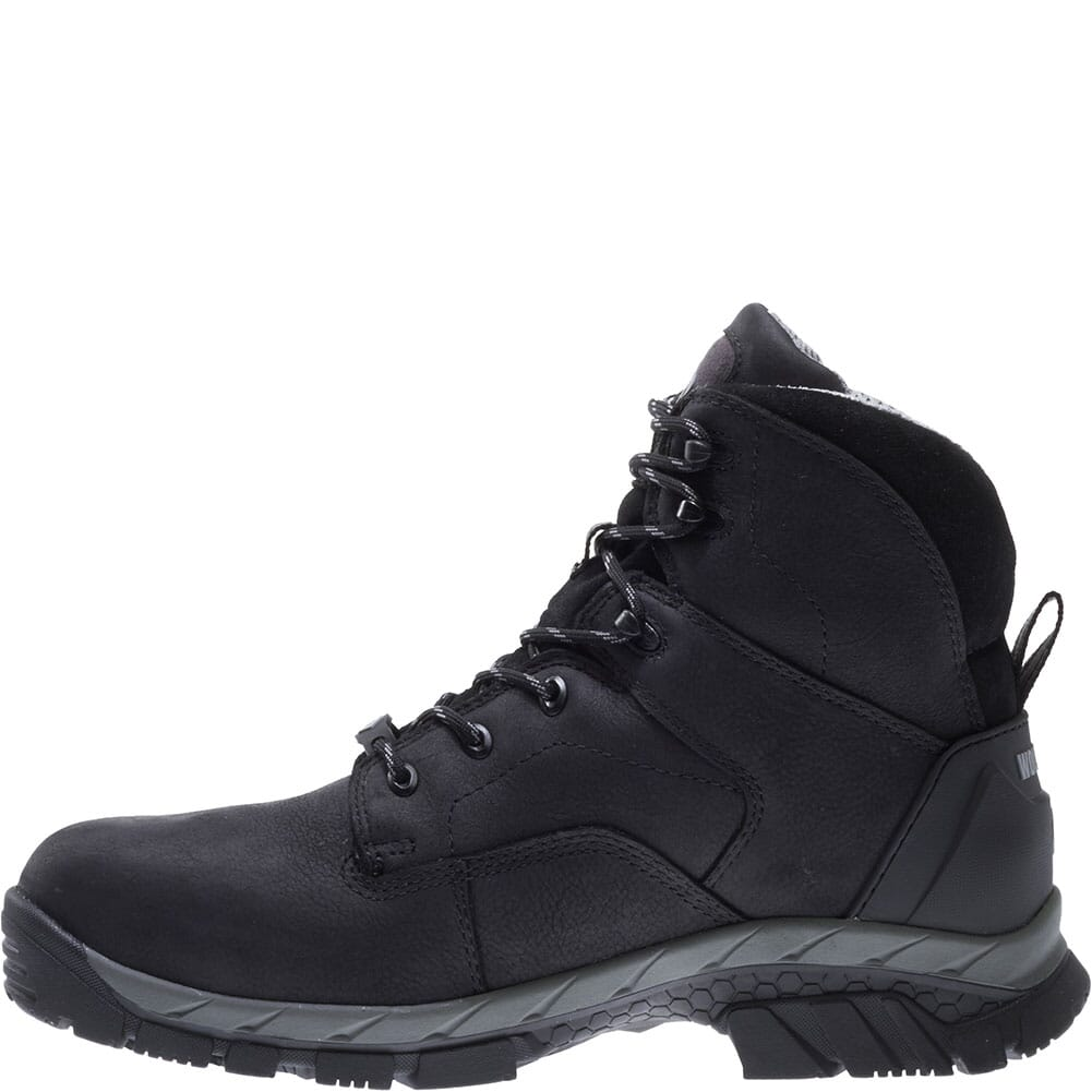 Wolverine Men's Glacier Ice WP Carbonmax Safety Boots - Black