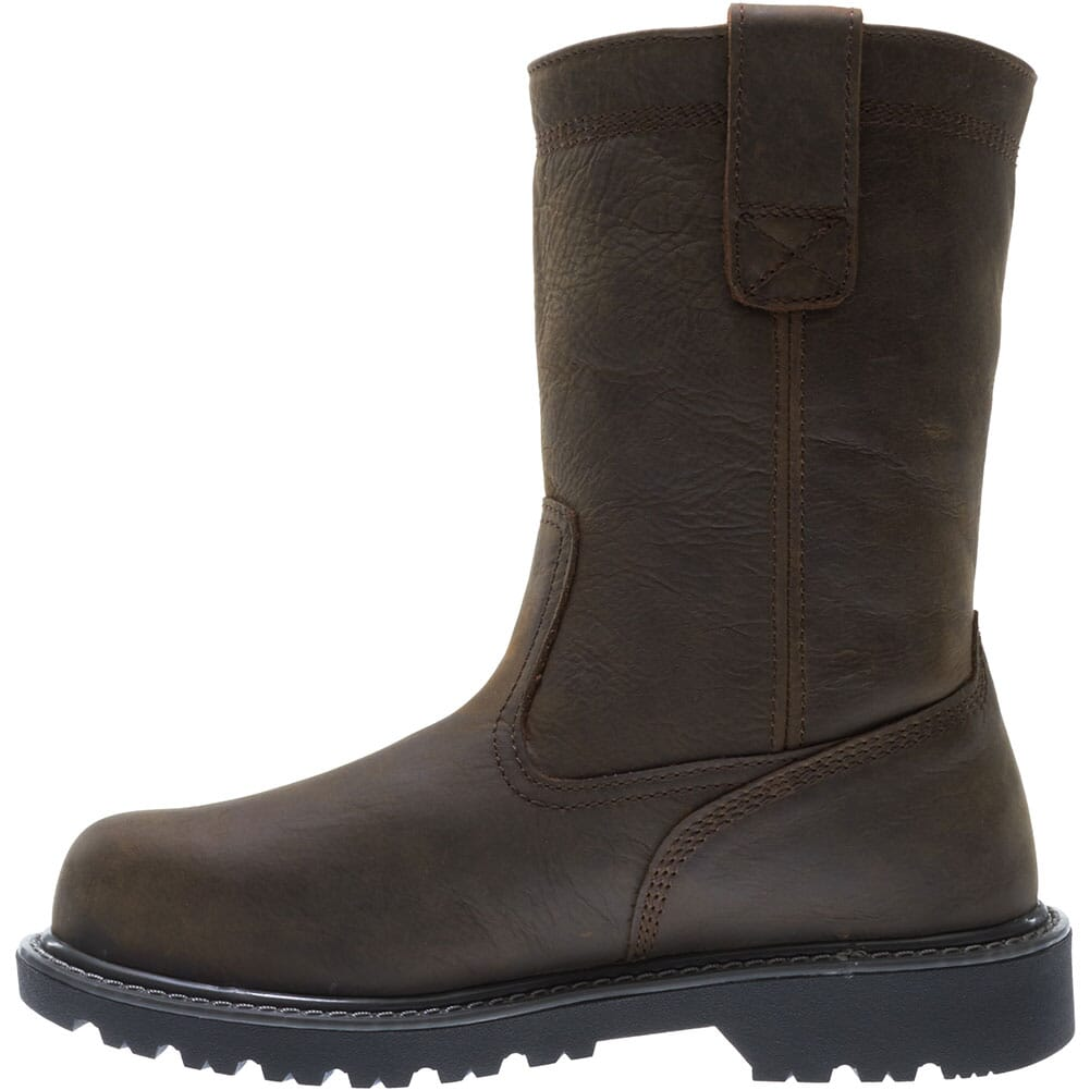 Wolverine Women's Floorhand Safety Boots - Dark Brown