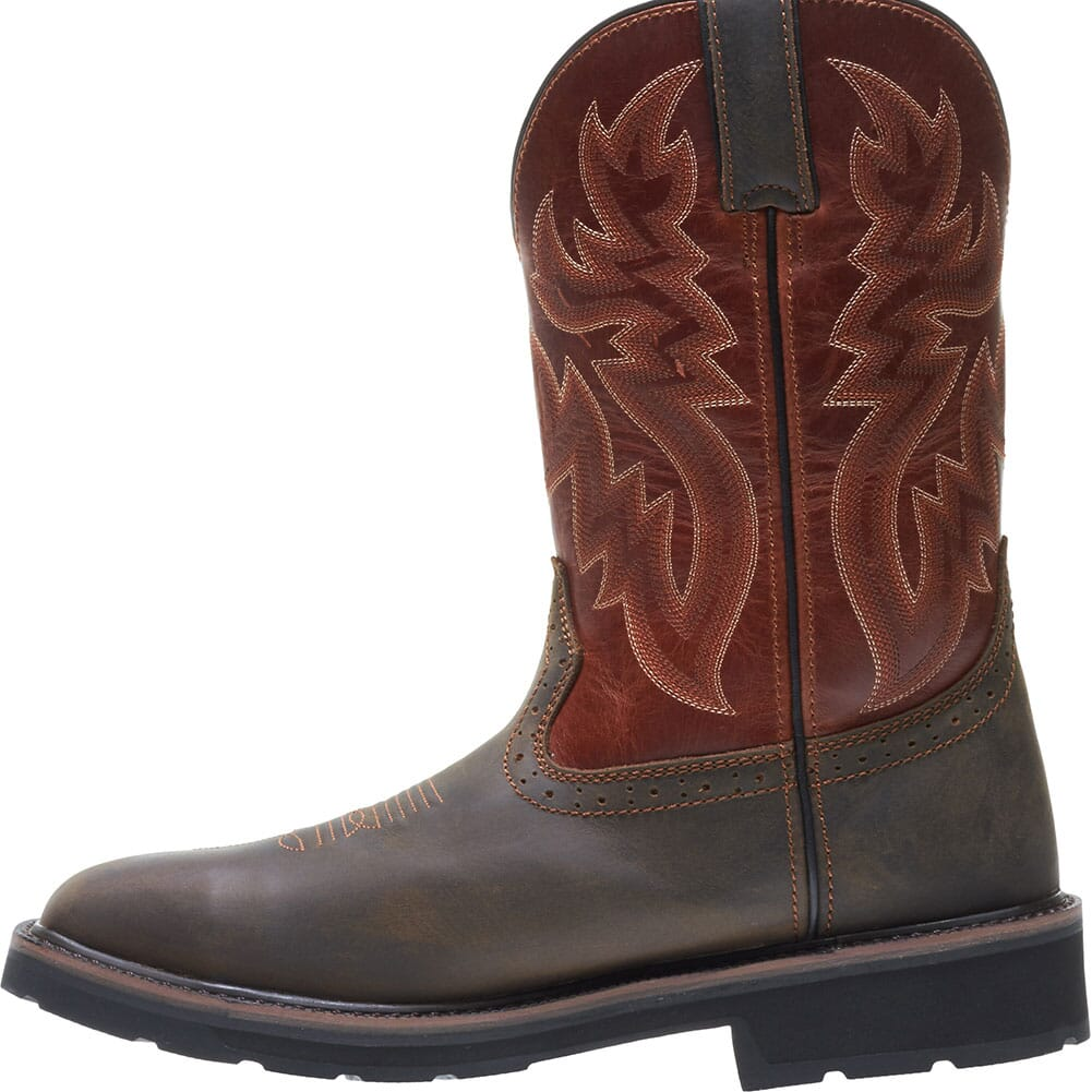 Wolverine Men's Rancher WP Safety Boots - Rust/Brown