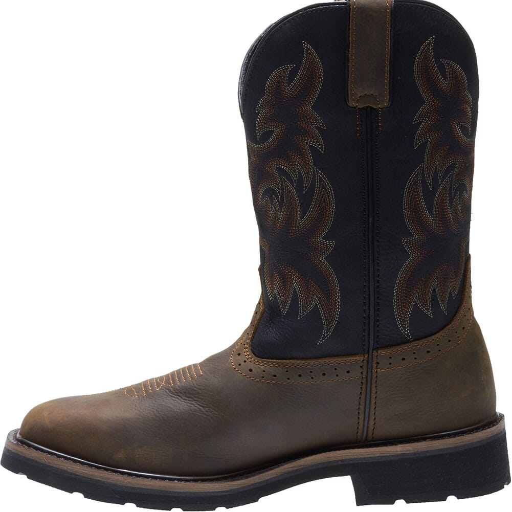 Wolverine Men's Rancher WP Safety Boots - Black/Brown