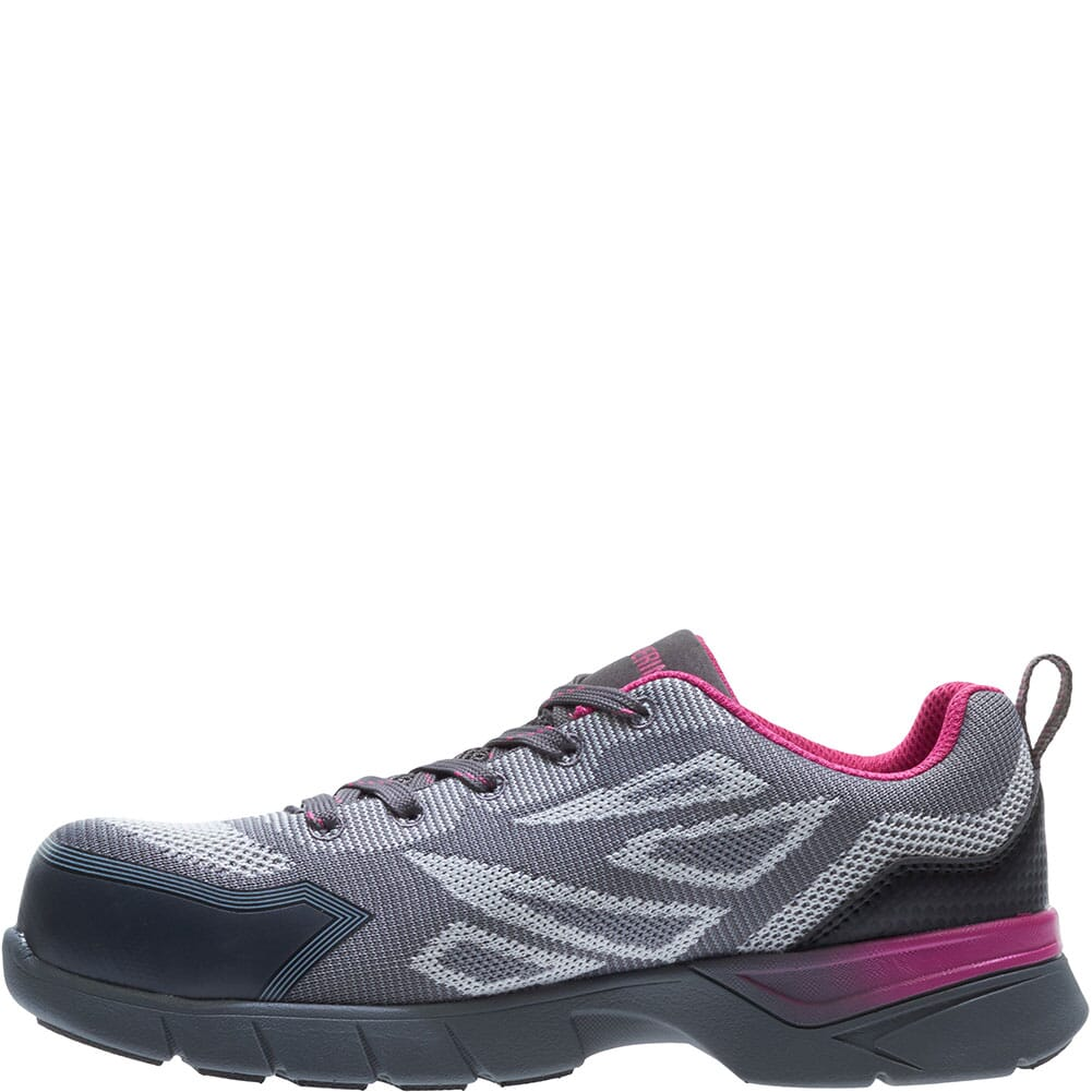 Wolverine Women's Jetstream 2 Carbonmax Safety Shoes - Grey/Pink