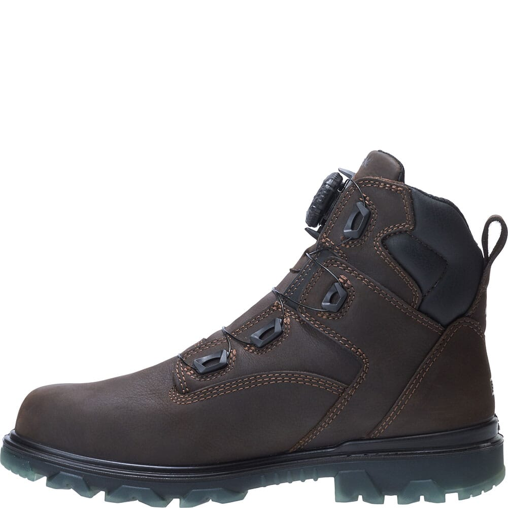 W191063 Wolverine Men's I-90 EPX BOA Safety Boots - Coffee Bean