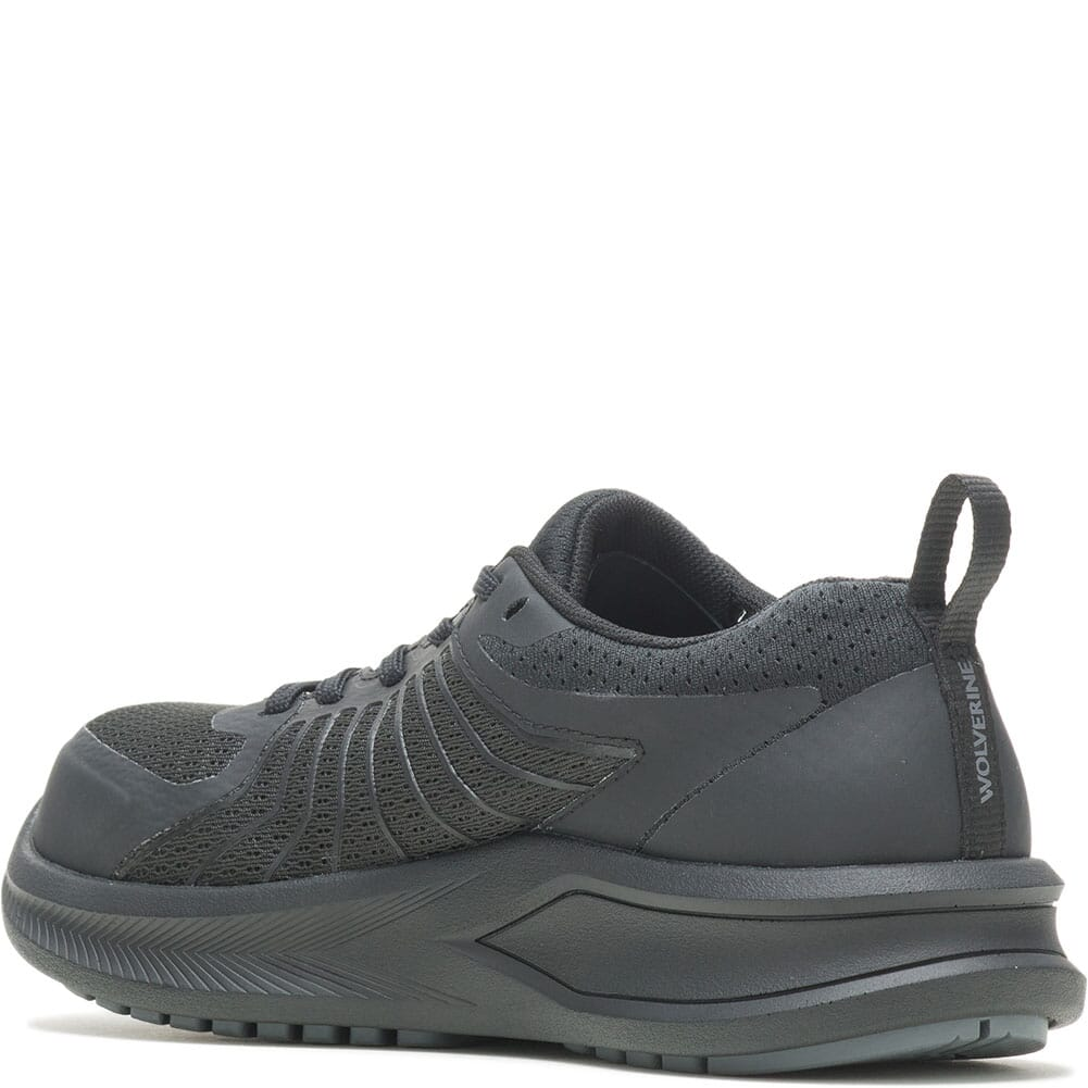 W211068 Wolverine Women's Bolt Vent CT Safety Shoes - Grey