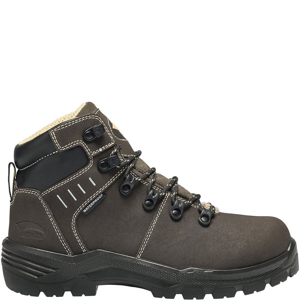 7452 Avenger Women's Foundation Met Guard Safety Boots - Brown