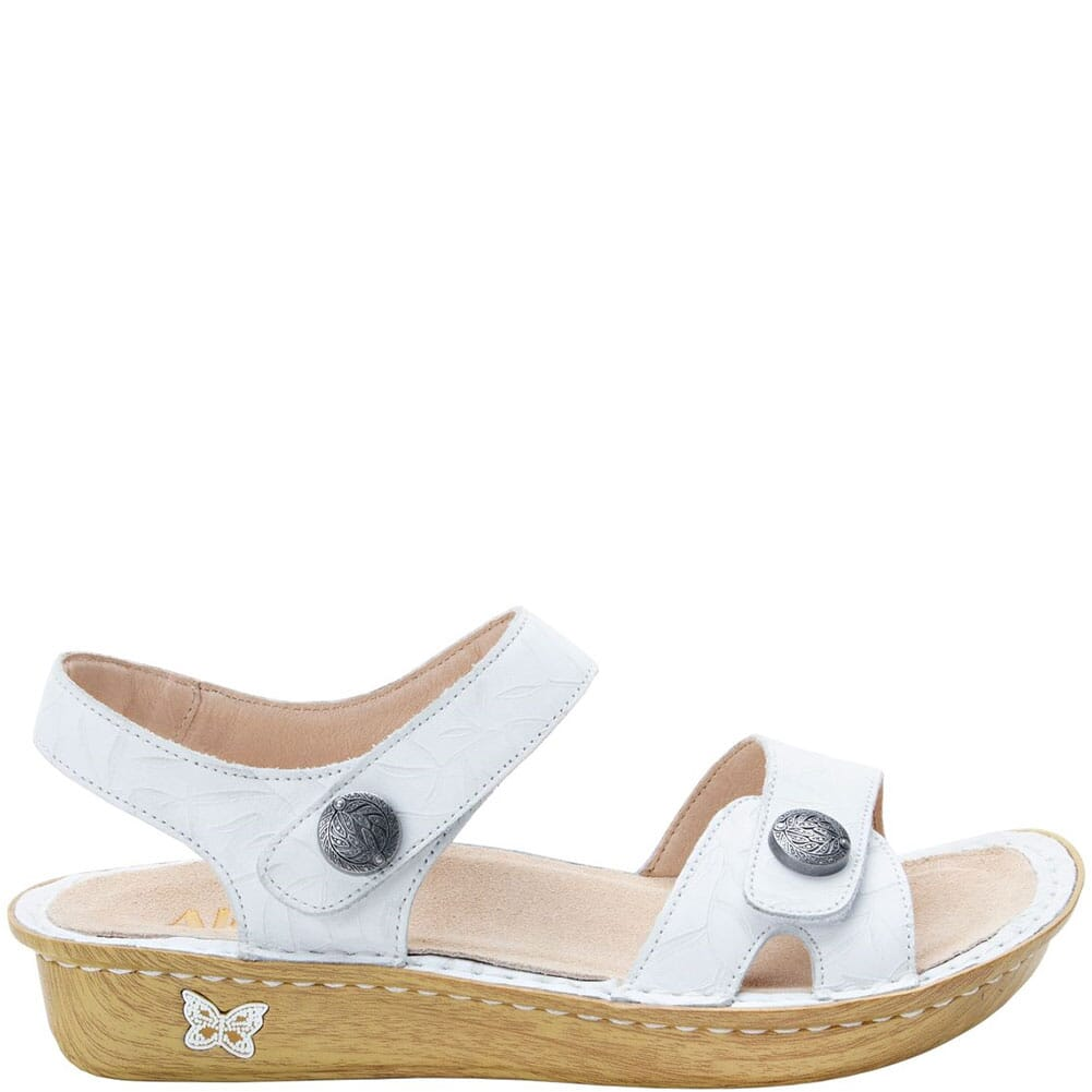 VIE-464 Alegria Women's Vienna Slingback Sandals - Lotus White