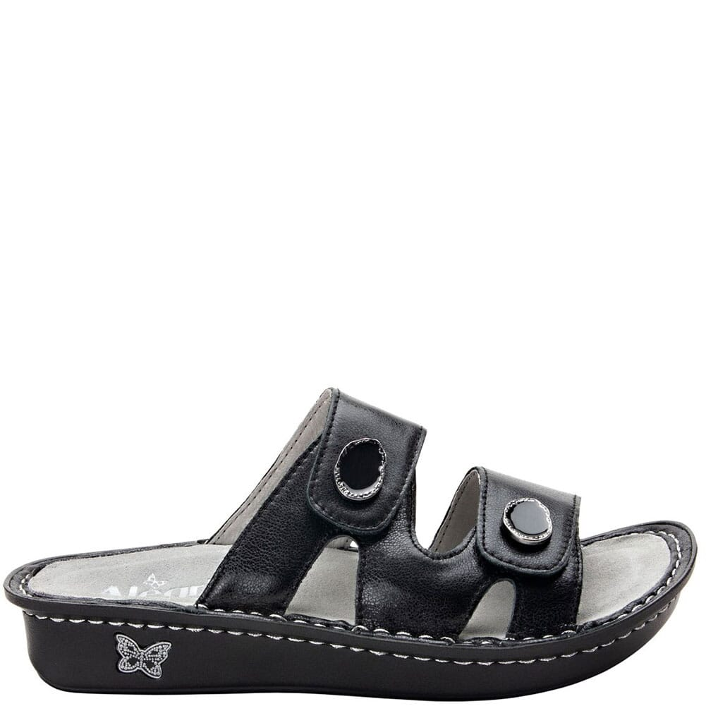 VIO-611 Alegria Women's Violette Slip-On Sandals - Black