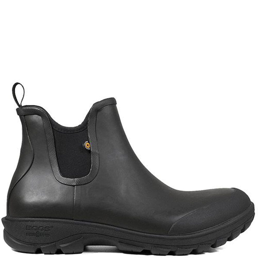 72207-001 Bogs Men's Sauvie Rubber Boots - Black