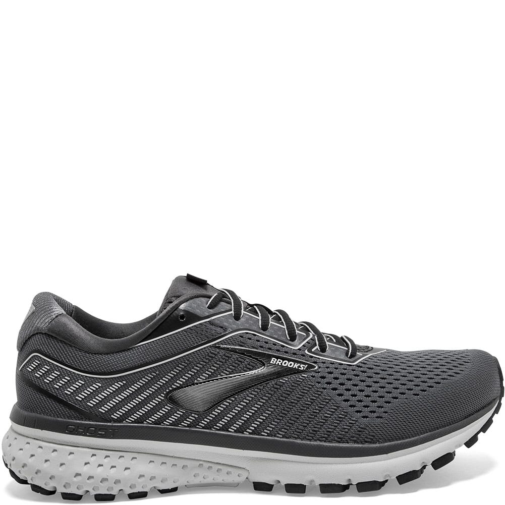 Brooks Men's Ghost 12 Road Running Shoes - Black/Pearl
