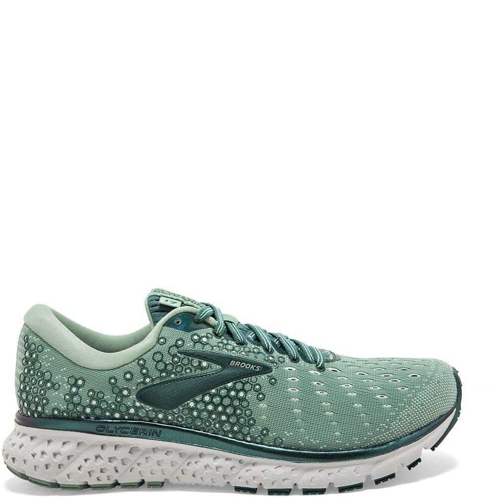 Brooks Women's Glycerin 17 Road Running Shoes - Aqua Foam/Grey