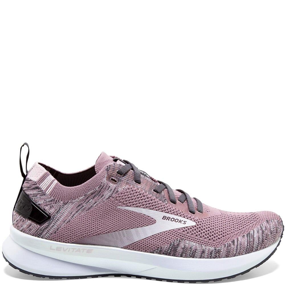 120335-032 Brooks Women's Levitate 4 Road Running Shoes - Blackened Pearl