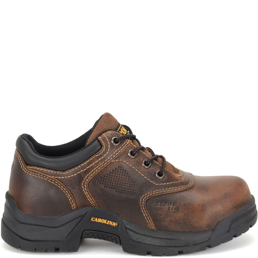 Carolina Women's Broad Toe ESD Safety Oxford - Brown