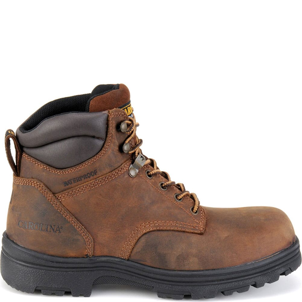 Carolina Men's WP Safety ST Hikers - Brown