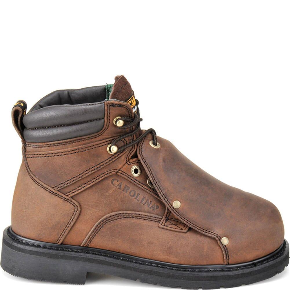 Carolina Men's Metatarsal Guard Safety Boots - Brown