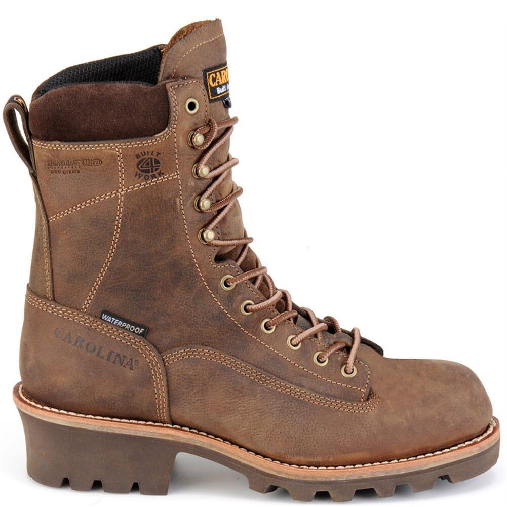 Carolina Men's WP INS Work Boots - Brown
