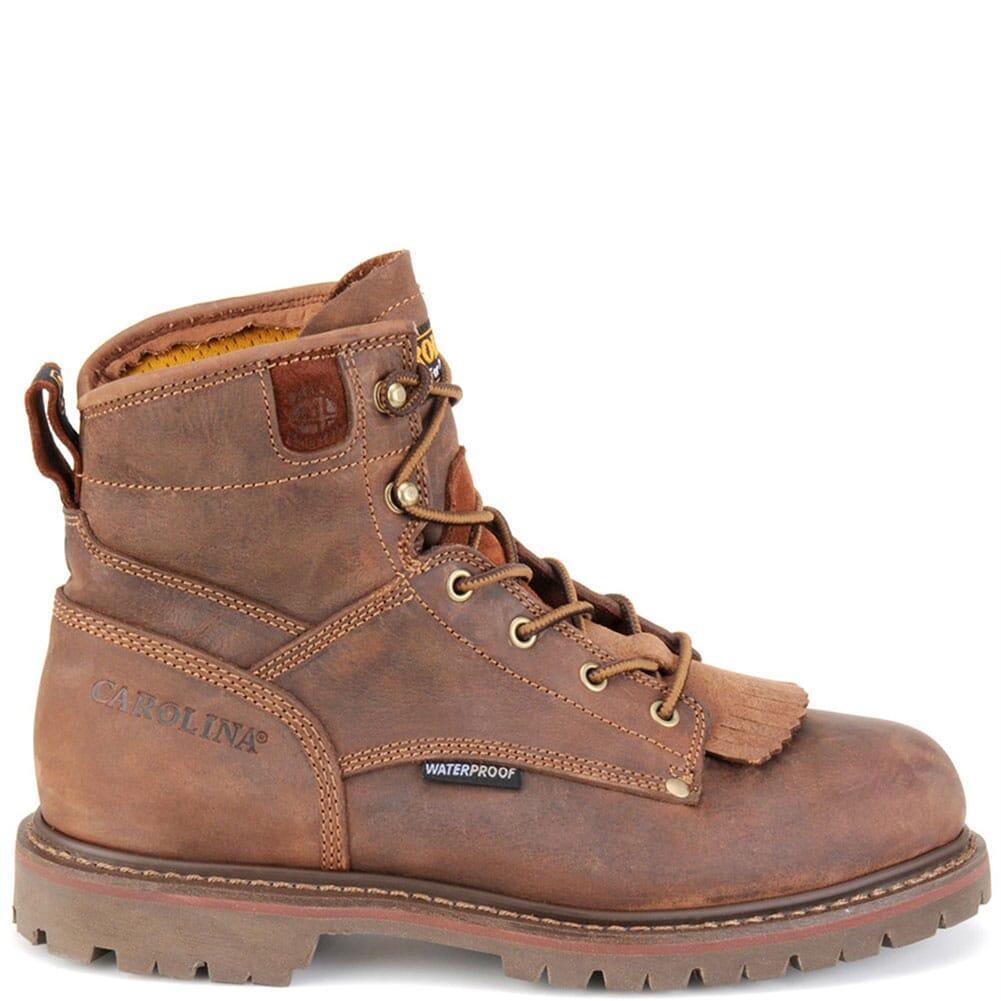 Carolina Men's WP Heavy Duty Work Boots - Cigar Brown