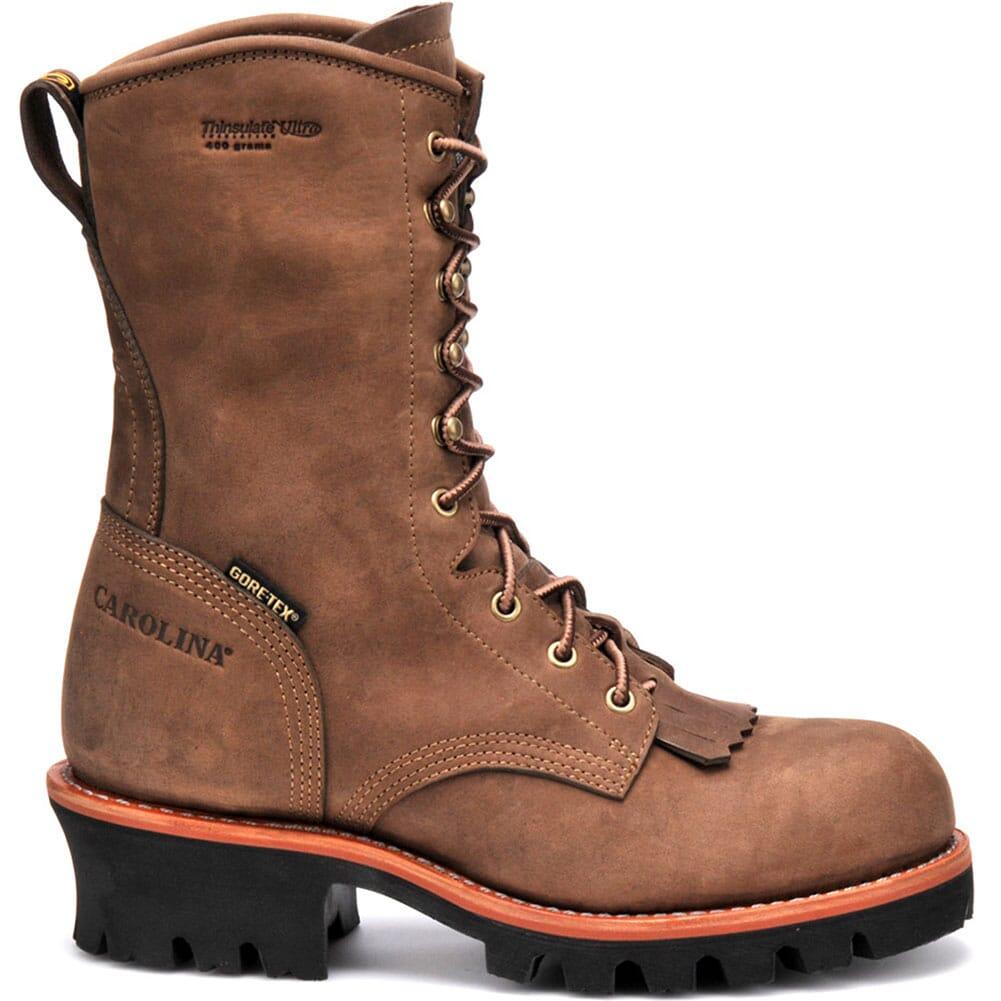 Carolina Men's GORE-TEX Safety Loggers - Brown