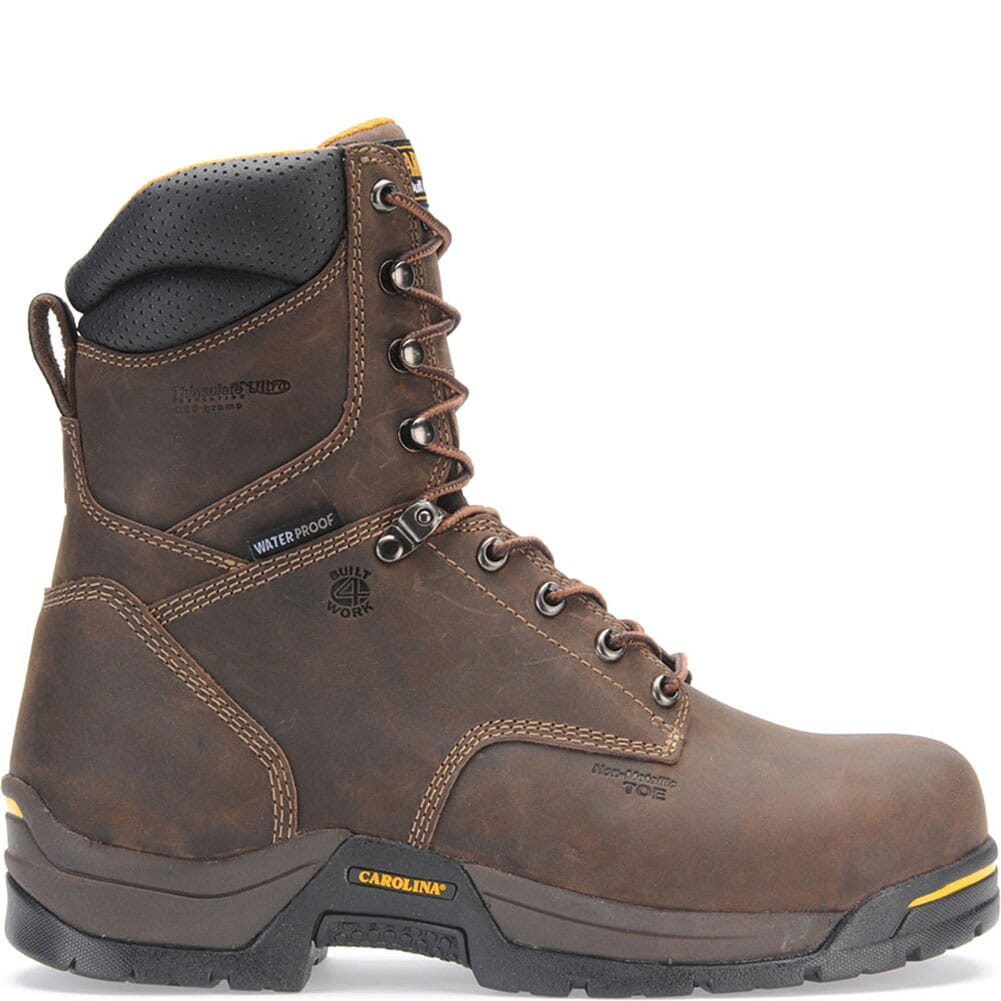 Carolina Men's WP 600 Grams Safety Boots - Brown