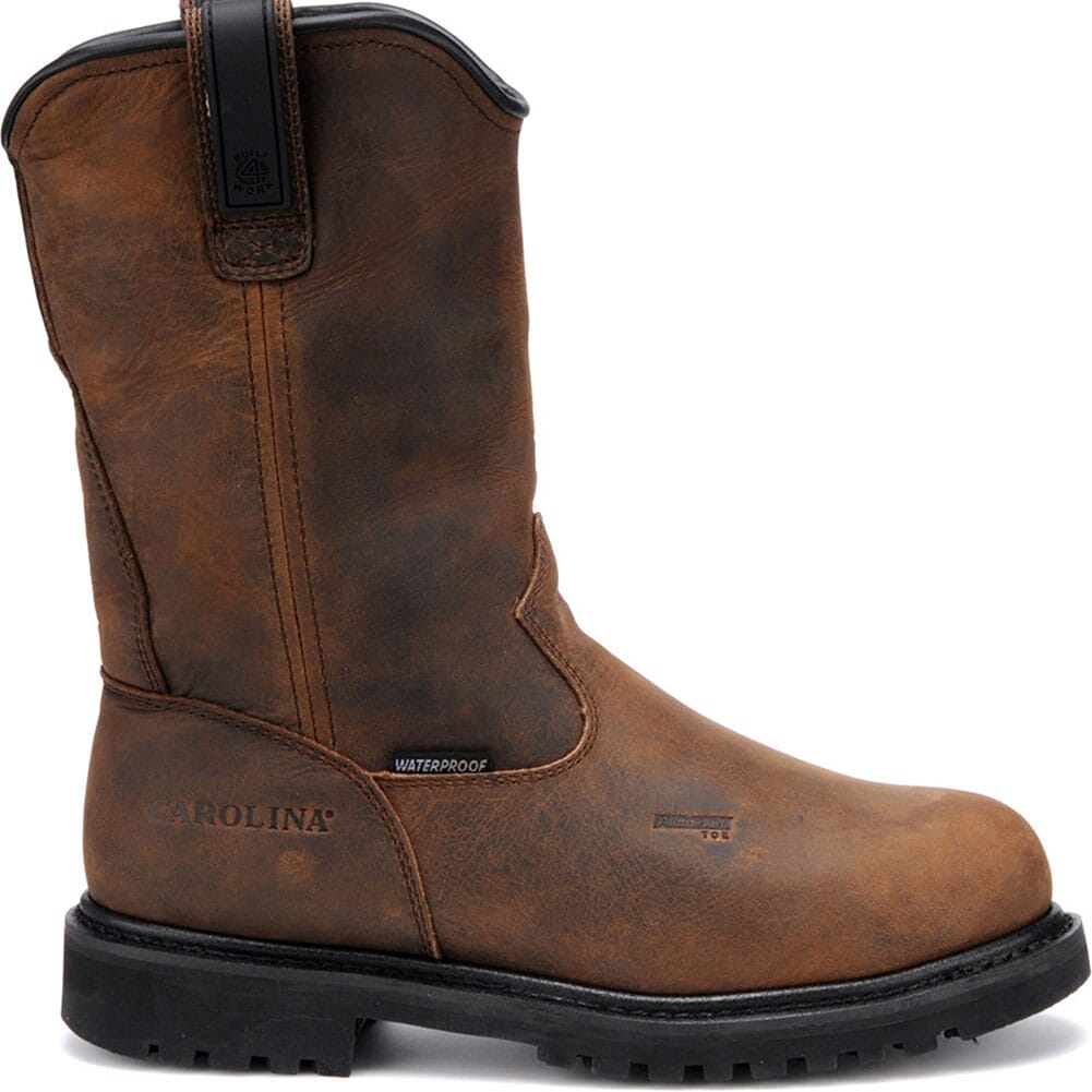 Carolina Men's Waterproof Safety Boots - Dark Brown