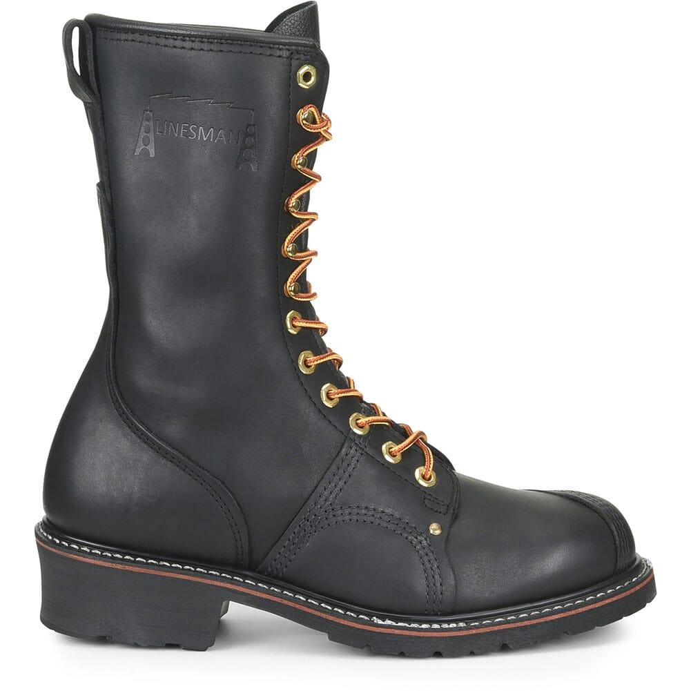 Carolina Men's Linesman 10 Work Boots - Black