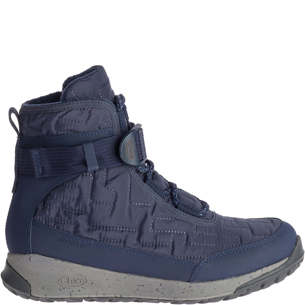 Chaco Women's Borealis Quilt WP Casual Boots - Denim
