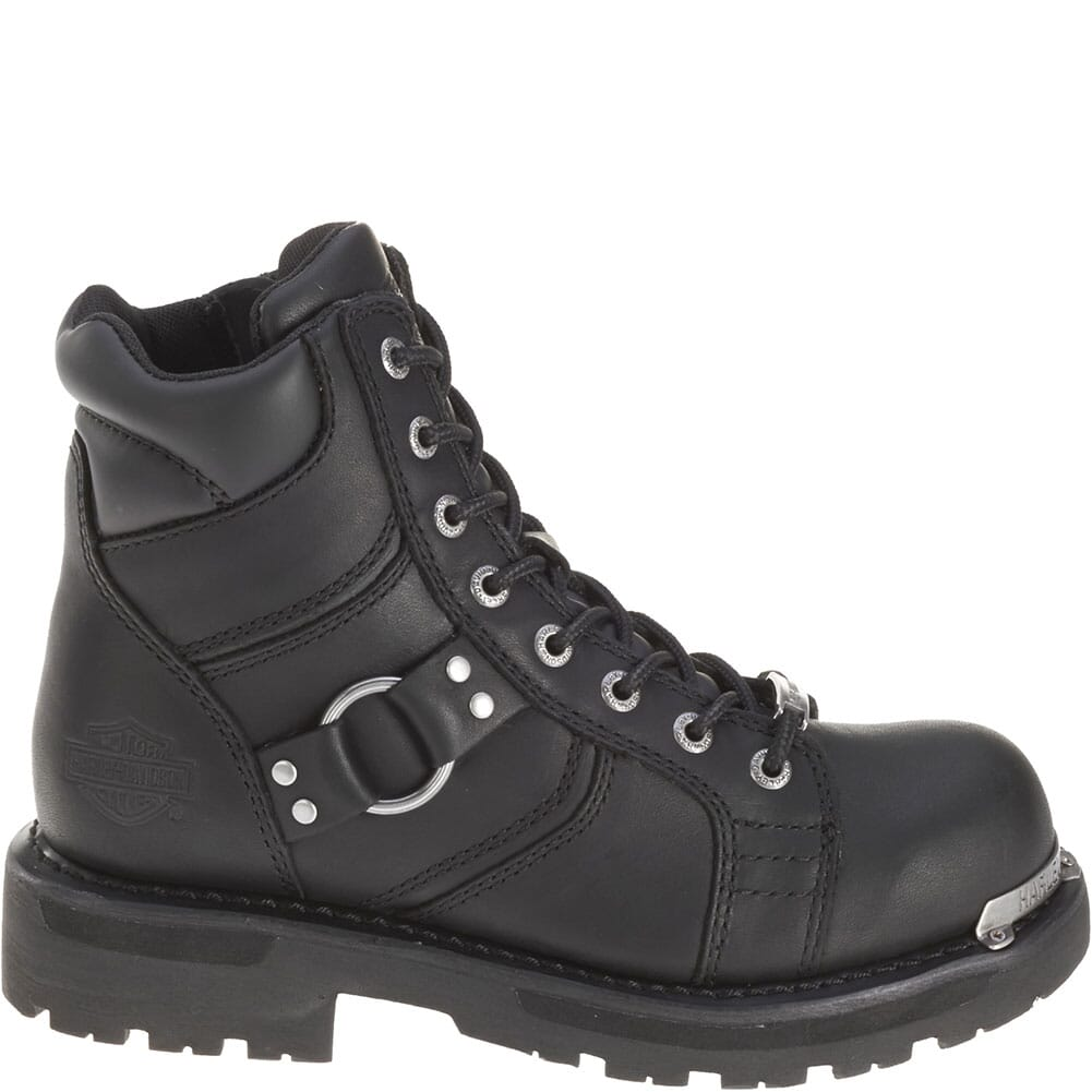 Harley Davidson Women's Maddy Motorcycle Boots - Black