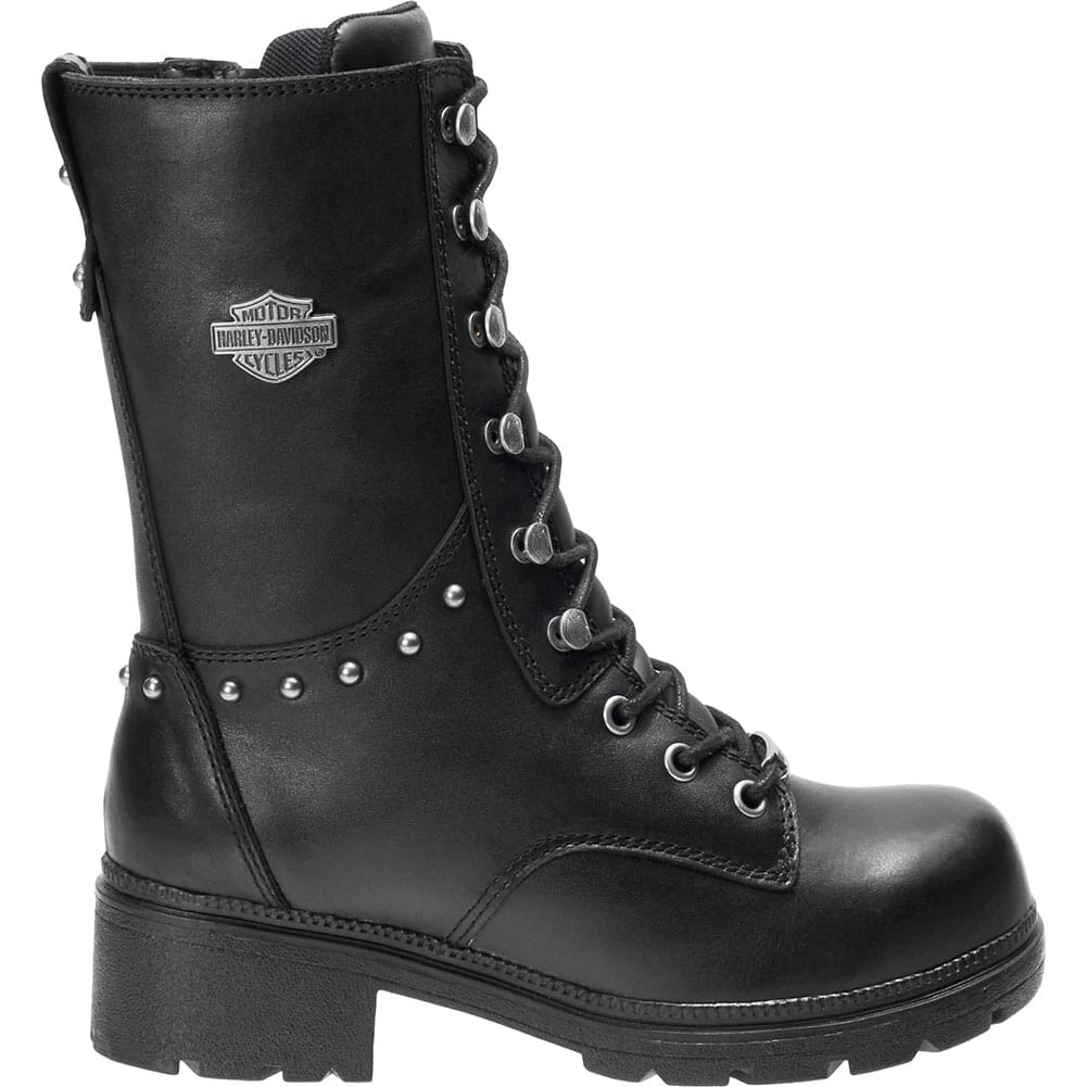 Harley Davidson Women's Cherwell Safety Boots - Black