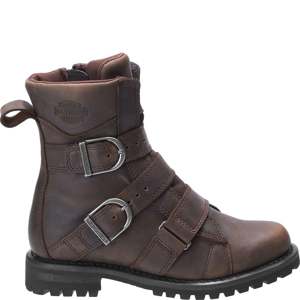 Harley Davidson Women's Hemford Motorcycle Boots - Brown