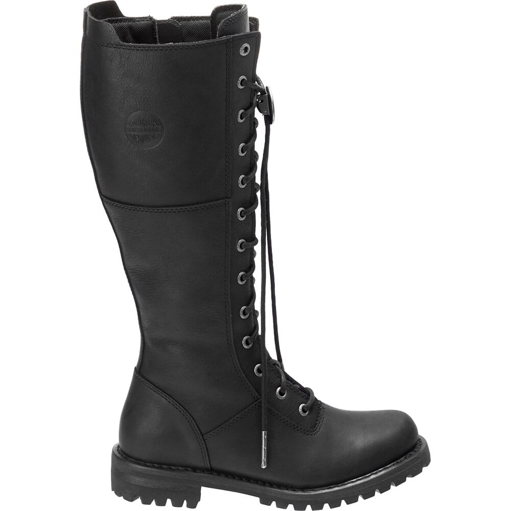 Harley Davidson Women's Walfield Motorcycle Boots - Black