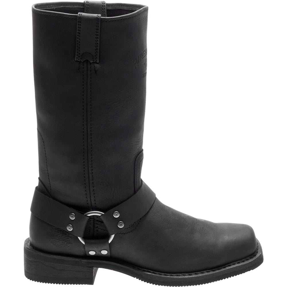 Harley Davidson Men's Bowden Motorcycle Boots - Black