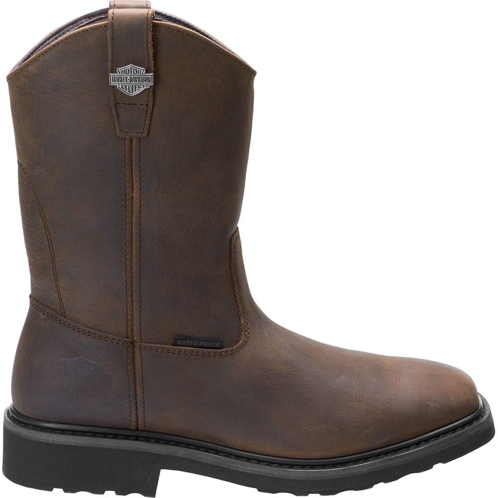 Harley Davidson Men's Altman CT Safety Boots - Brown
