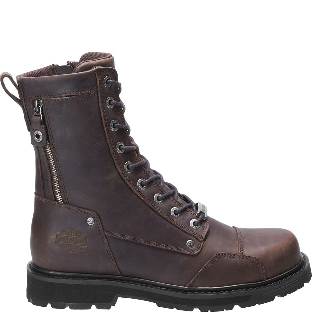 Harley Davidson Men's Chatfield Motorcycle Boots - Brown