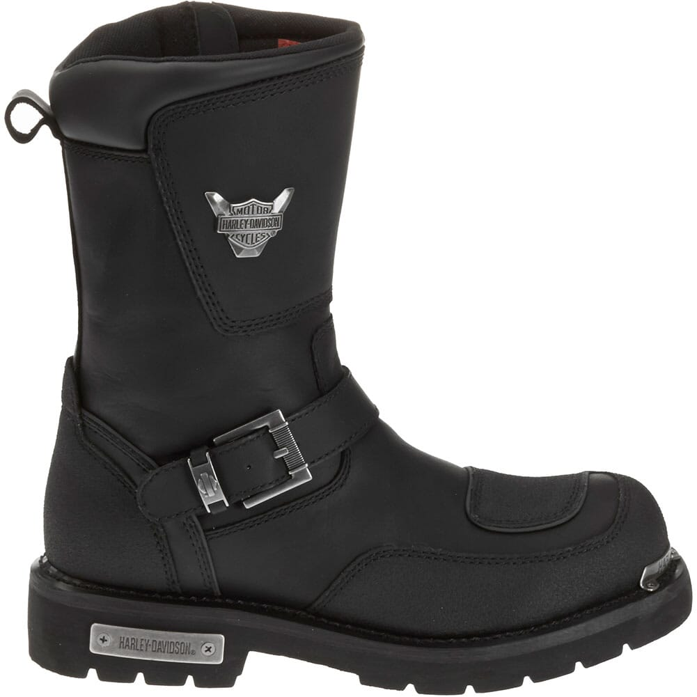 Harley Davidson Men's Shift Motorcycle Boots - Black