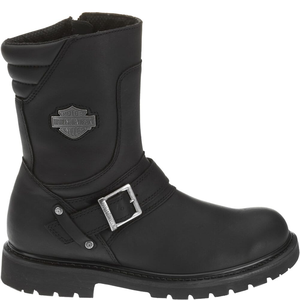 Harley Davidson Men's Booker Motorcycle Boots - Black