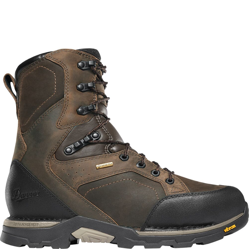 15863 Danner Men's Crucial Safety Boots - Brown