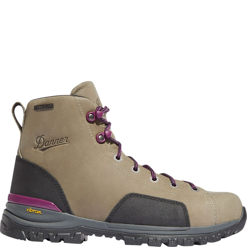 Danner Women's Stronghold Safety Boots - Gray