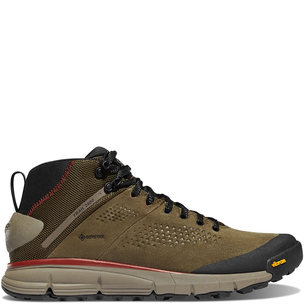61241 Danner Men's Trail 2650 GTX Mid Hiking Shoes - Dusty Olive