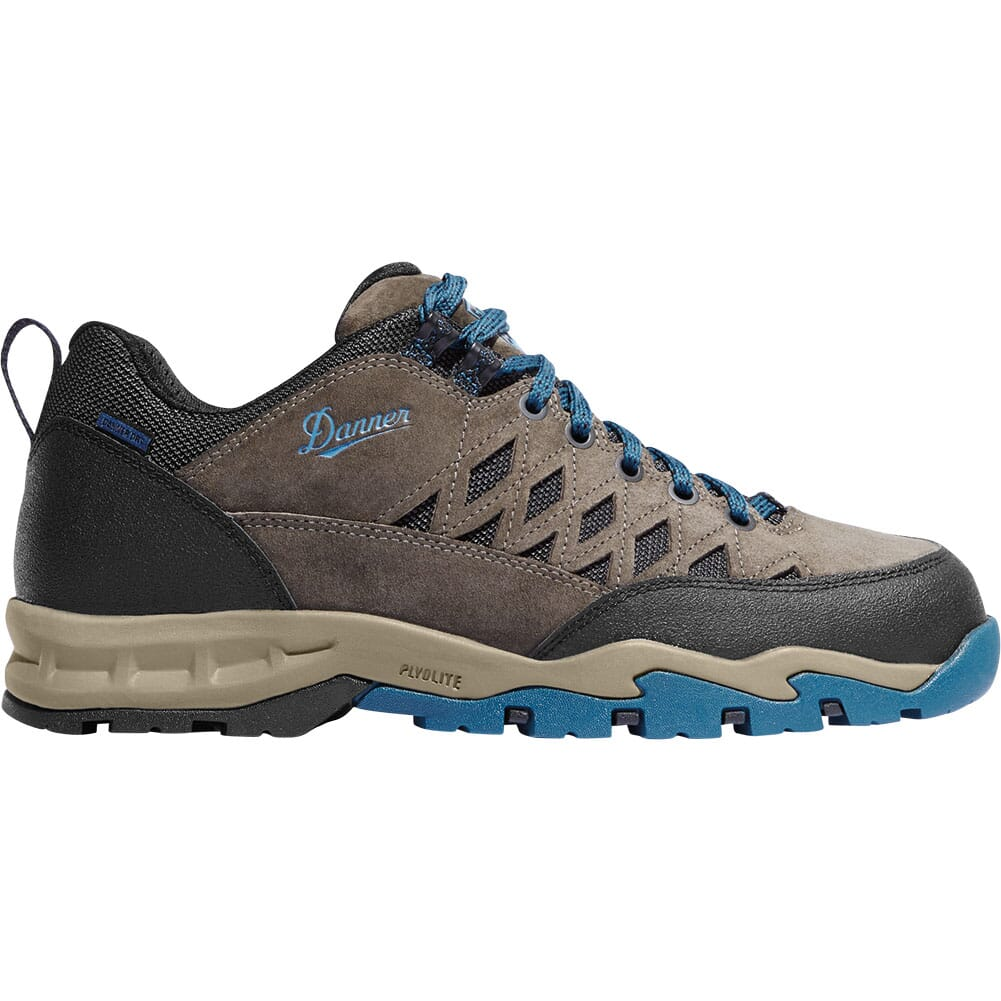 Danner Men's TrailTrek Hiking Boots - Gray/Blue