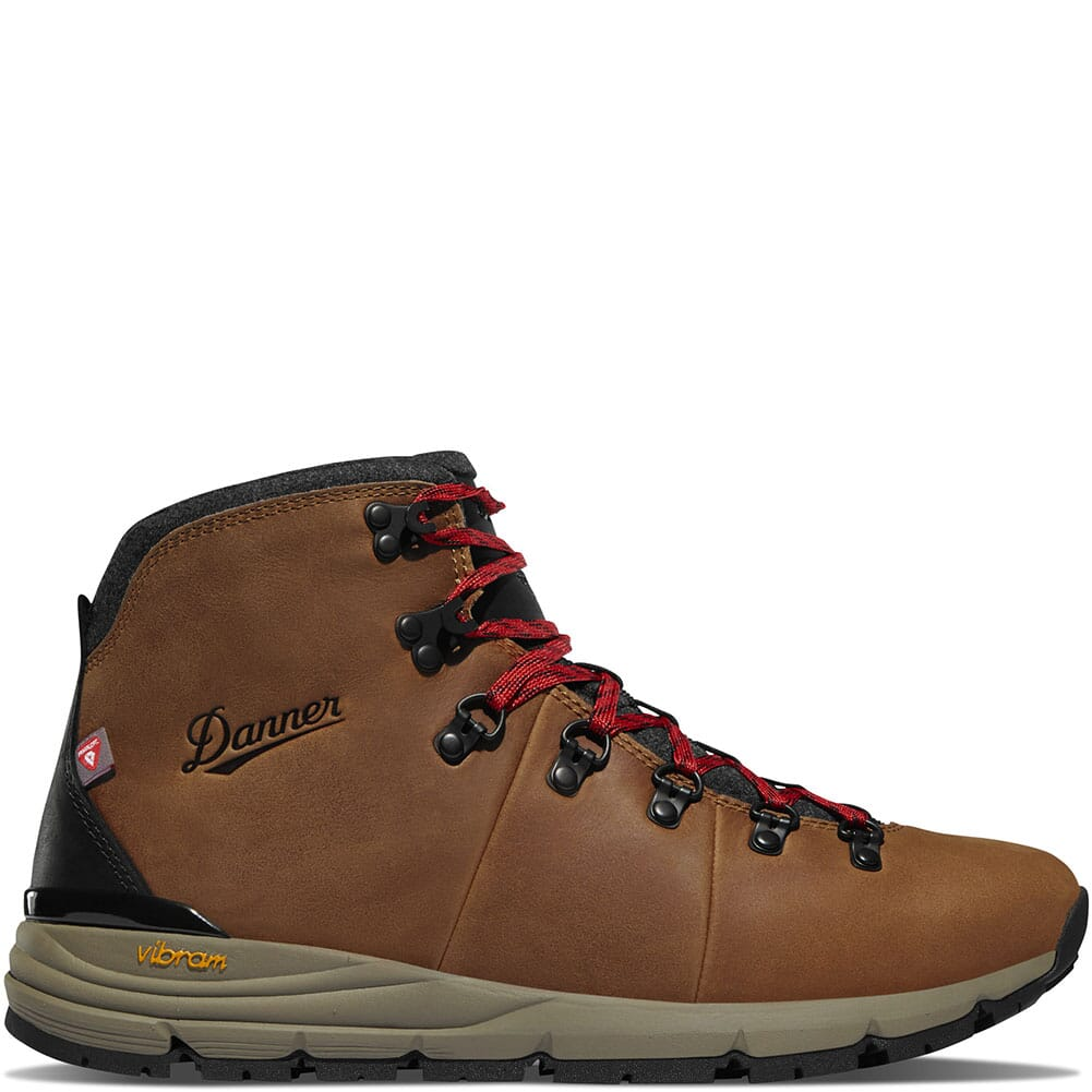 62145 Danner Men's Mountain 600 Insulated Hiking Boots - Java/Bossa Nova