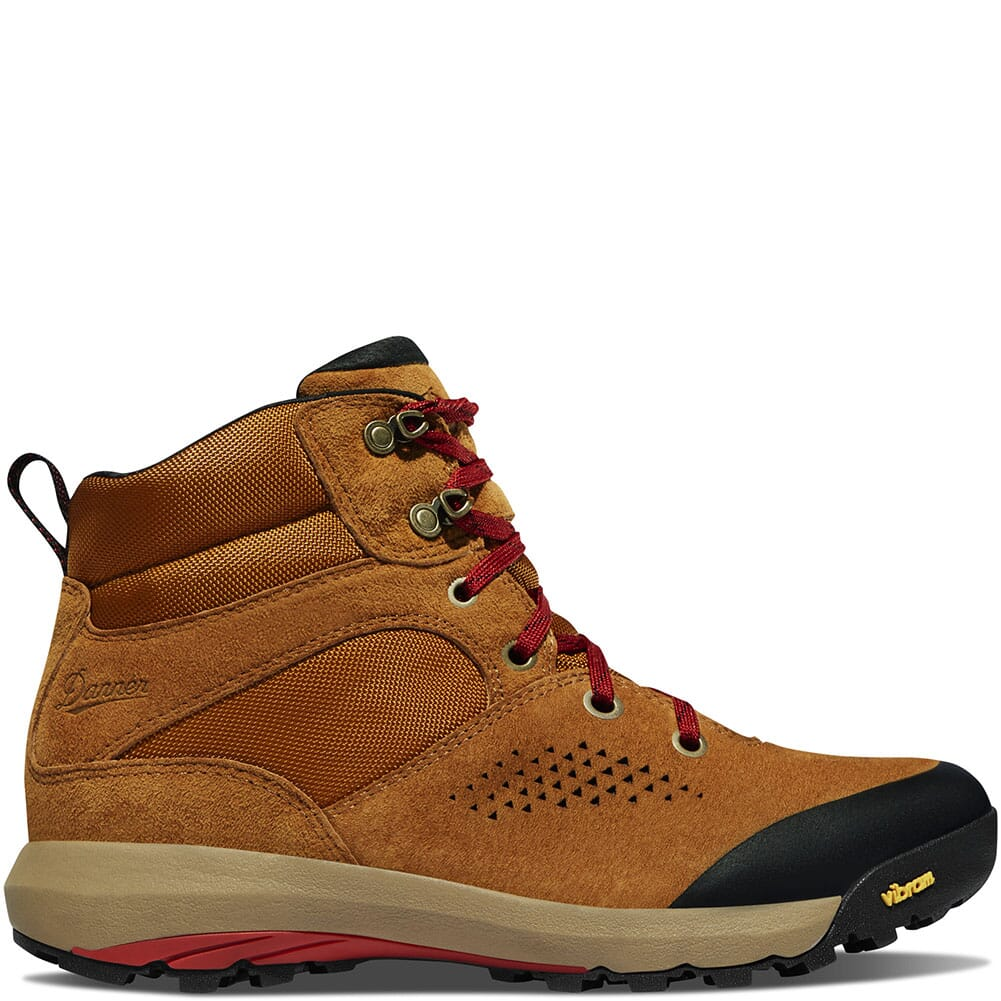 64531 Danner Women's Inquire Mid WP Hiking Boots - Brown/Red