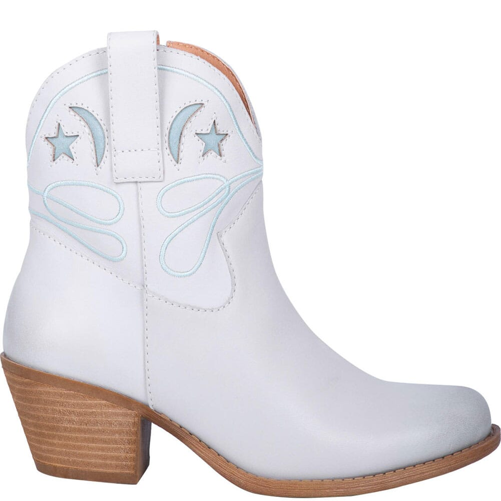 Dingo Women's Urban Cowgirl Western Boots - Off White
