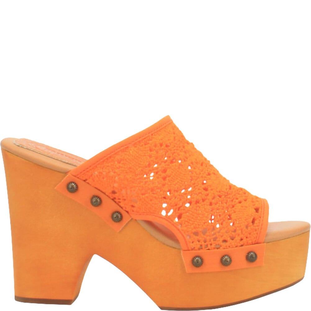 DI361-OR Dingo Women's Crafty Woven Sandals - Orange